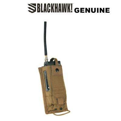 Genuine Blackhawk Strike Radio Pouch Tactical Strong Holder Coyote Tan New