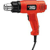 Black & Decker KX1650  power heat gun 740 l/min Red 1750 W Heteluchtblazer