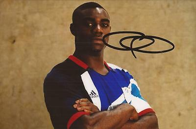 TEAM GB: MICAH RICHARDS SIGNED 6x4 PORTRAIT PHOTO+COA *LONDON 2012 OLYMPICS*