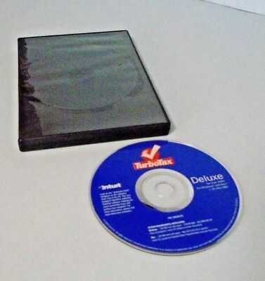 Intuit TurboTax Deluxe Federal Tax Year 2005 CD Disc Only