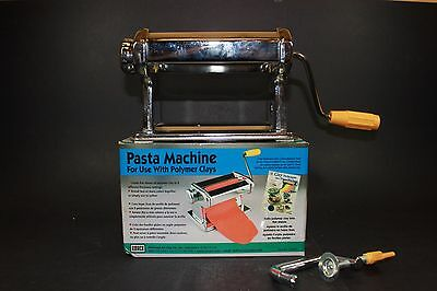 Amaco Pasta Machine For Use With Polymer Clays and Soft Metal Sheets 12381S