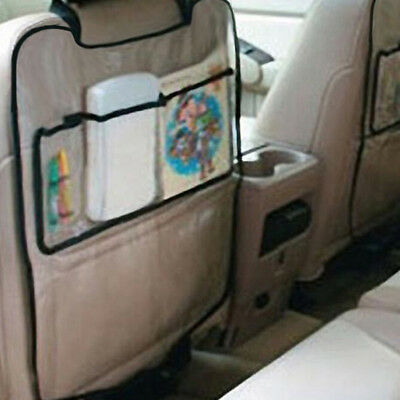 1PC Car seat back protector cover for children kick mat protects storage bags ZS