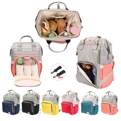 Mummy Bag Maternity Nappy Diaper Baby Care Bag Travel Backpack Changing Handbag