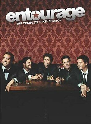Entourage: The Complete Sixth Season (DVD, 2010, 3-Disc Set) New Sealed
