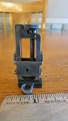 MICROMETER REAR SIGHT For WWII Lee Enfield SMLE Bolt Action Rifle Mod  No 5