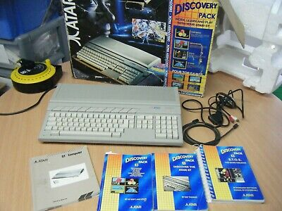 Vintage Retro Boxed Atari 520 St Computer Untested Powers Up