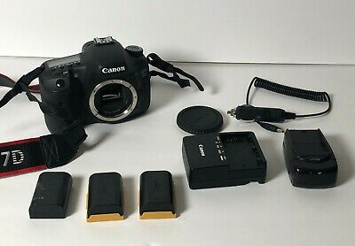 Canon EOS 7D Camera Body with Extras NICE DIGITAL DSLR