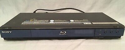 SONY Blu-Ray DVD Player HDMI LAN HD Audio - PreOwned - Good Condition - BDP S350