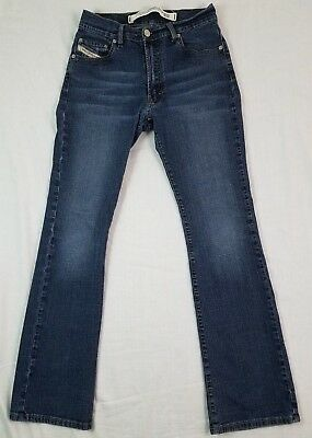 e8818d66 DIESEL Womens Jeans Fanker Sz 26 Made In Italy Blue Denim Authentic 26x29