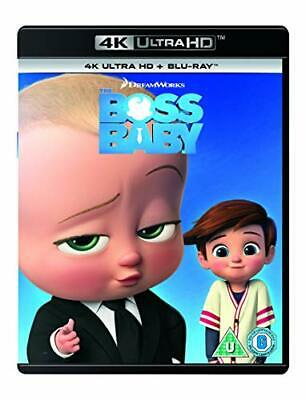 The Boss Baby (4K UHD Blu-Ray) [2018] [Region Free] [DVD][Region 2]