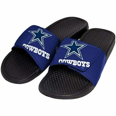6787e9faf98 Dallas Cowboys Mens Sandals NFL Slide Legacy Water Shoes Flip Flops Sandal