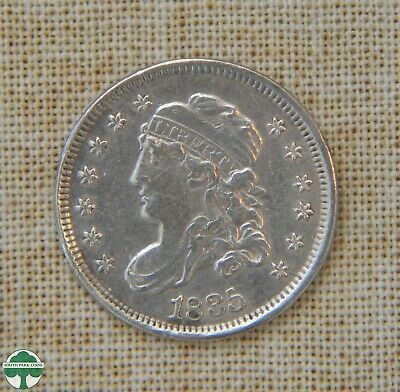 1835 Capped Bust Half Dime - Extra Fine Details