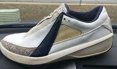 new style 2257a 9b81d 2005 OG NIKE AIR JORDAN XX 20 LOW WHITE NAVY BLUE GREY LASER 311247-142