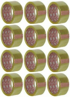 "Clear Packing Tape 2""X55 Yds (12 Pack)"