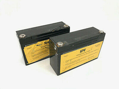 Lot (2) Pipeline 12V Rechargeable Battery Spy Holiday Detector 790 785 780 AS IS