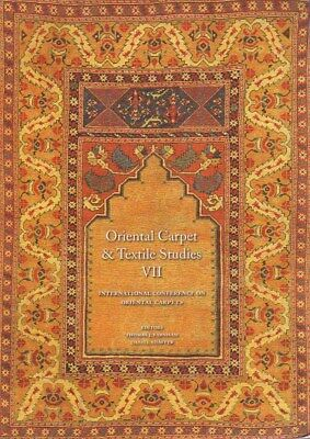 NEW BOOK - Oriental Carpet and Textile Studies VII Selected Papers from ICOC X