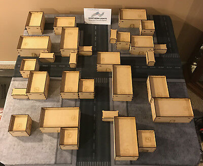 28MM SCI-FI INFINITY 4x4 Terrain setup - for use with Infinity, Warhammer  40k
