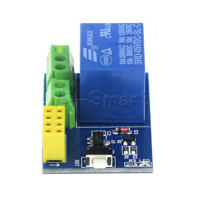 ESP8266 ESP-01S Module Remote Switch 5V WIFI Relay Phone APP Project Design Kit