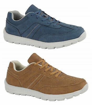 Mens Casual Trainers  Charles Southwell Go Walk Memory Foam Casual Soft Trainers