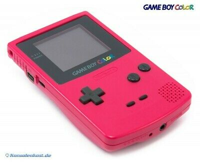 GameBoy Color - Konsole #Rosa/Pink/Red/Berry