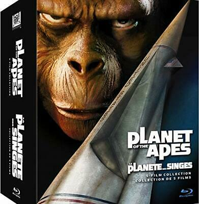 Planet of the Apes 5 Film Collection [Blu-ray]