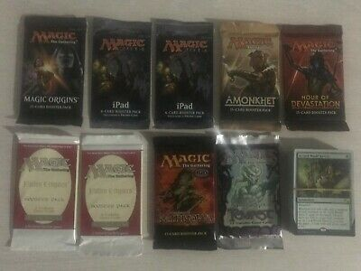 Mtg, Magic the gathering 9xBooster + 50 rare cards, Tempest...