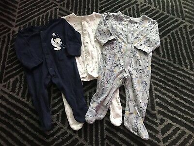 Baby Boys Sleepsuits Babygrows Playsuits Newborn First Size