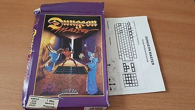 Dungeon Master Box Only Amiga Computer Game Retro Video Disk
