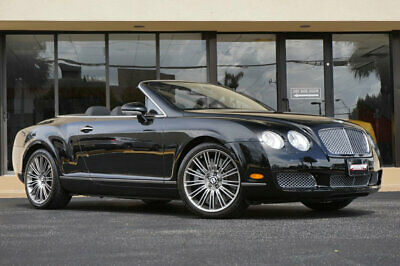 "2008 Bentley Continental GT 2dr Convertible '08 Bentley GT Convertible, 9,374 miles, 552 HP, 20"" Speed Rims /new Tires."
