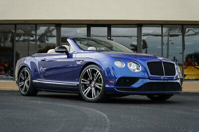 "2016 Bentley Continental GT 2dr Convertible V8 S '16 Bentley Continental GT V8S Convertible, $268,515 MSRP,@1"" Wheels,Mulliner"