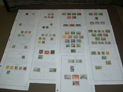 Cyprus Collection, 1880-1999, on computer pages. 2016 SCV $870