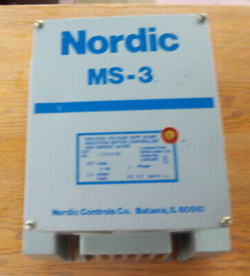 Siemens Nordic MS-3 soft start motor controller 460 Volts 35 amps 3 phase 20 HP
