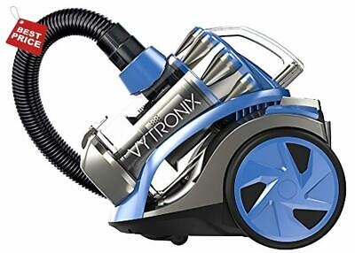 Cyclonic Bagless Cylinder Vacuum Cleaner Hoover Powerful 1400w Compact Pet Care