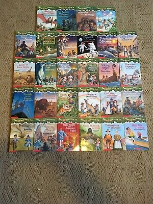 Magic Tree House book Series by Mary Pope Osborn - books 1-28 good condition