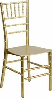 Lot Of 20 Elegence Stacking Chiavari Chairs Assorted Colors Avail. See Descrip
