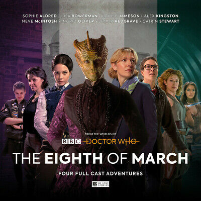 DOCTOR WHO - THE EIGHTH OF MARCH (Big Finish, Doctor Who, 4xCD)