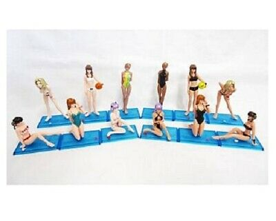 Bandai,HGIF,DEAD OR ALIVE Extream Beach Volleyball,All 12 Figures Complete Set