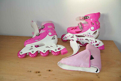 Patins Hello Kitty (rose fischa/blanc)