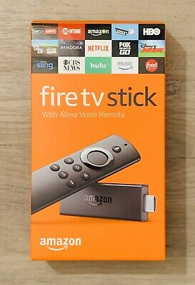 Amazon Fire TV Stick with Alexa Voice Remote Streaming 2nd Generation New