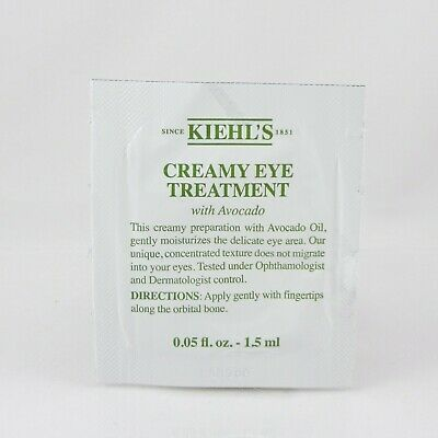 Kiehl's Creamy Eye Treatment with Avocado  0.05 OZ / 1.5ml