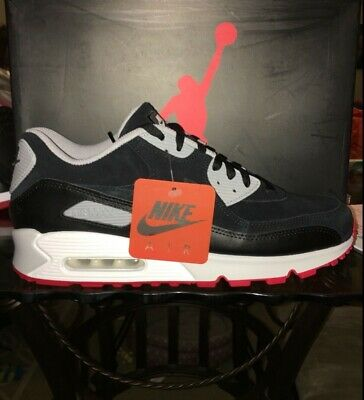 Air Max 90 X Jordan 4 Bred Sz 7-13 Vaulted Nike iD 2019 Air Max Day In Hand !