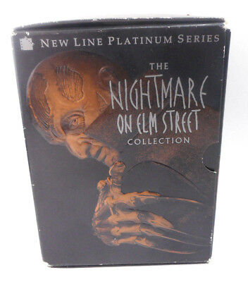 The Nightmare on Elm Street Collection (DVD, 1999, 8-Disc Set) - FREE SHIPPING
