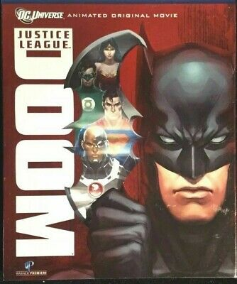 NEW Justice League DOOM (Blu-Ray, 2-Disc, 2012)