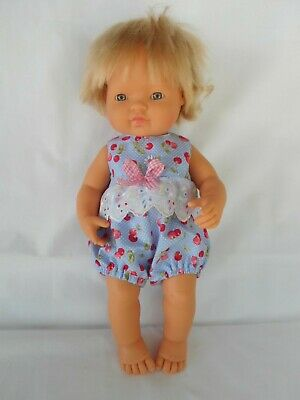 Handmade dolls clothes (Romper Suit), fit 38cm, 15 inch Miniland doll