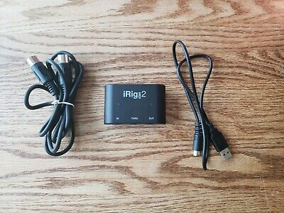 IK Multimedia iRig MIDI 2 Universal MIDI Interface - Tested - See Details