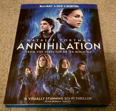Annihilation US Blu-ray + Slipcover *No DVD or Digital* Region Free