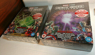 Marvel Studios Cinematic Universe:Phase 2 and 3 (Blu-ray,REGION FREE) Brand NEW