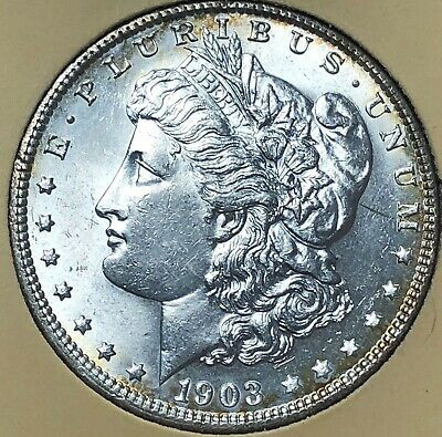 1903 GEMMY Morgan LIBERTY Silver Dollar $1 UNCIRCULATED free s/h No Reserve!