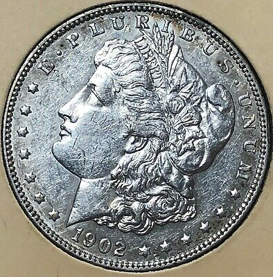 1902 GEMMY Morgan LIBERTY Silver Dollar $1 UNCIRCULATED free s/h No Reserve!