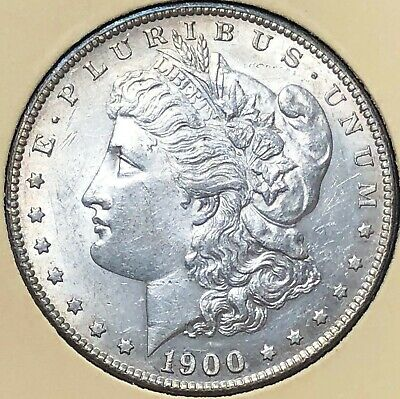 1900-S GEMMY Morgan LIBERTY Silver Dollar $1 UNCIRCULATED free s/h No Reserve!